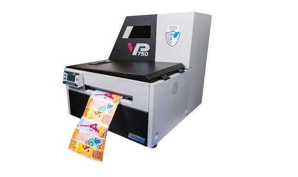 VP750 täysväritarratulostin suurille tulostusvolyymeille